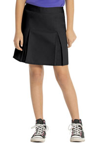 Real School Uniforms REAL SCHOOL Juniors Pleated Scooter Black (65324-RBLK)
