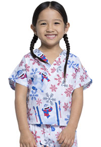 Tooniforms Kids Top and Pant Scrub Set Bumble � Rumble (6620C-RUBM)
