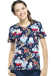 Tooniforms V-Neck Top Cool Rudolph (6802C-RUCO)