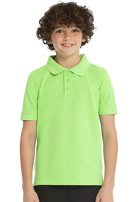 Real School Uniforms Short Sleeve Pique Polo Green (68110-RGRN)