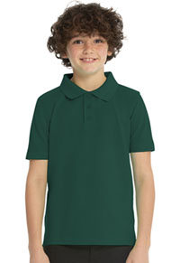 Real School Uniforms Short Sleeve Pique Polo Hunter (68110-RHUN)