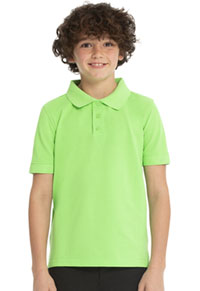 Real School Uniforms Short Sleeve Pique Polo Green (68112-RGRN)