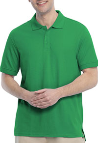 Real School Uniforms Short Sleeve Pique Polo Green (68114-RGRN)