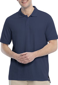 Real School Uniforms Short Sleeve Pique Polo Navy (68114-RNVY)