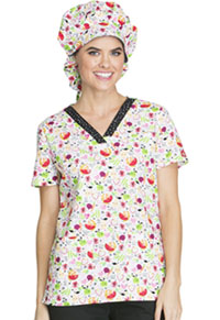 Dickies Bouffant Scrub Hat Nuts About Nutrition (80510C-NUNU)