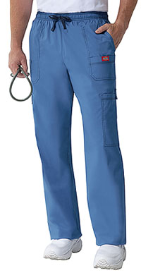 Dickies Men's Drawstring Cargo Pant Blue Fog (81003-BLFZ)
