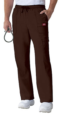 Dickies Men's Drawstring Cargo Pant Chocolate (81003-CHCZ)