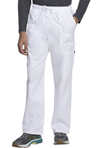Men's Drawstring Cargo Pant White (81003-DWHZ)