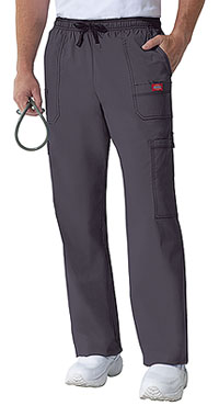 Dickies Men's Drawstring Cargo Pant Lt. Pewter (81003-PEWZ)