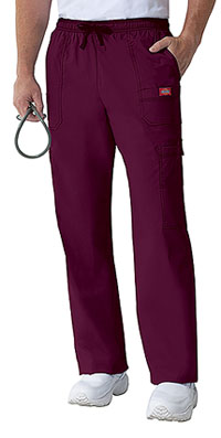 Dickies Men's Drawstring Cargo Pant D-Wine (81003-WINZ)
