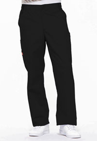 Dickies Men's Zip Fly Pull-On Pant Black (81006-BLWZ)