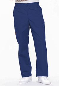 Men's Zip Fly Pull-On Pant Galaxy Blue (81006-GBWZ)