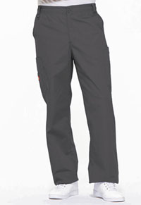Dickies Men's Zip Fly Pull-On Pant Pewter (81006-PTWZ)