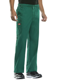 Dickies Men's Elastic Waist Cargo Pant Hunter Green (81100-HUN)