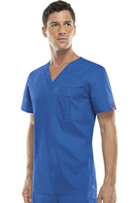 Dickies Men's V-Neck Top Royal (81714A-ROWZ)