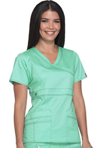 Dickies Mock Wrap Top Mint Dream (817355-MTDR)