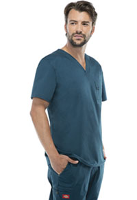 Dickies Men's V-Neck Top Caribbean Blue (81800-CAWZ)