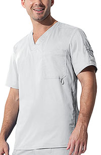Dickies Youtility Men's V-Neck Top White (81822-DWHZ)