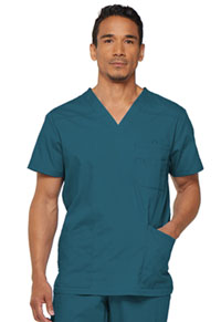 Dickies Men's V-Neck Top Caribbean Blue (81906-CAWZ)