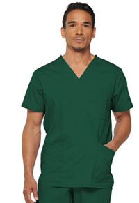 Dickies Men's V-Neck Top Hunter (81906-HUWZ)