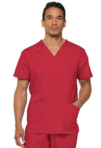 Dickies Men's V-Neck Top Red (81906-REWZ)