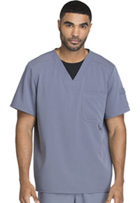 Dickies Men's V-Neck Top Lt. Pewter (81910-PEWZ)