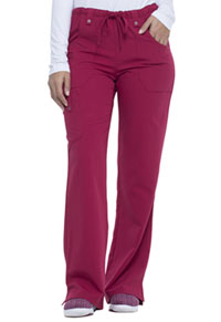 Dickies Mid Rise Drawstring Cargo Pant Wild Cherry (82011-WDCH)