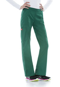 Dickies Mid Rise Moderate Flare Leg Pull-On Pant Hunter (82204A-HUWZ)