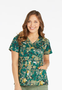 Dickies Mock Wrap Top Over And Out (82724-OVOU)