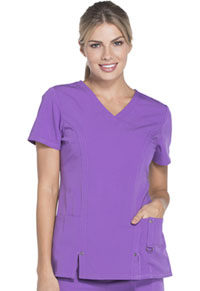 Dickies V-Neck Top Purplicious (82851-PLCS)