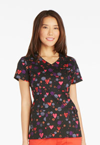 Dickies V-Neck Top U Have My Heart (82859-UHAV)