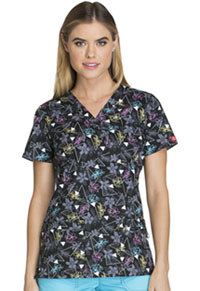 Dickies V-Neck Top Beautiful Angle (82978-BUAG)