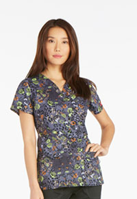 Dickies V-Neck Top It's A Wild World (82978-ITWD)