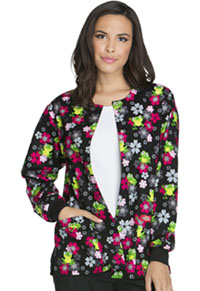 Dickies Snap Front Warm-Up Jacket Flower Hopping (84300C-FLWH)