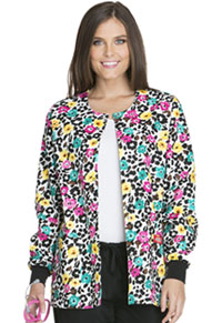 Dickies Snap Front Warm-Up Jacket Purrfect Petals (84300C-PRPT)
