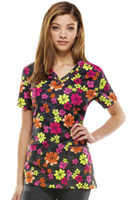 Dickies V-Neck Top Aloha (84754C-AOHA)