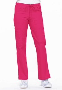 Low Rise Drawstring Cargo Pant Hot Pink (85100-HPKZ)