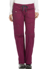 Low Rise Drawstring Cargo Pant (857455P-MBRY)