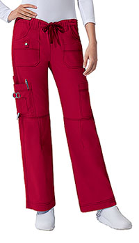 Dickies Low Rise Drawstring Cargo Pant Crimson (857455-CRMZ)