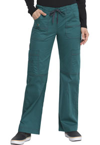 Low Rise Drawstring Cargo Pant Hunter (857455-HTRZ)