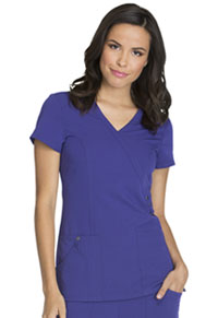 Xtreme Stretch Mock Wrap Top (85956-GPWZ) (85956-GPWZ)