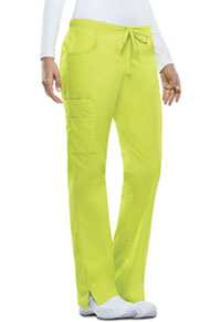 Dickies Mid Rise Drawstring Cargo Pant Lime Punch (86206-LIPZ)