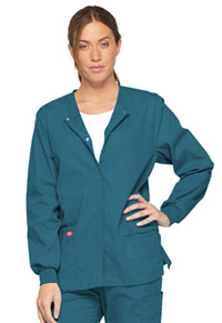 Dickies Snap Front Warm-Up Jacket Caribbean Blue (86306-CAWZ)