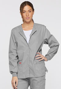 EDS Signature Snap Front Warm-Up Jacket (86306-GRWZ) (86306-GRWZ)