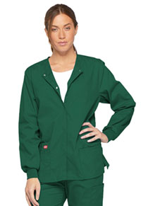 Snap Front Warm-Up Jacket (86306-HUWZ)