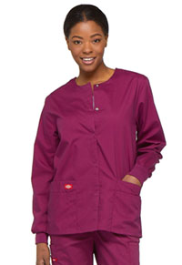 Dickies Snap Front Warm-Up Jacket Wine (86306-WIWZ)
