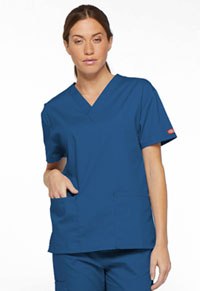 Dickies V-Neck Top Royal (86706-ROWZ)