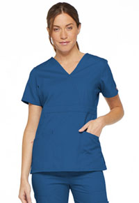 Dickies Mock Wrap Top Royal (86806-ROWZ)