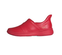 Infinity Footwear Leather Footwear Red,Red (BREEZE-RDRD)