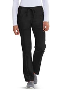 Low Rise Straight Leg Drawstring Pant (CA100T-BLKZ)